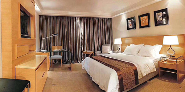 鸿业集团与广西国鹏国际大酒店顺利签约酒店家具项目