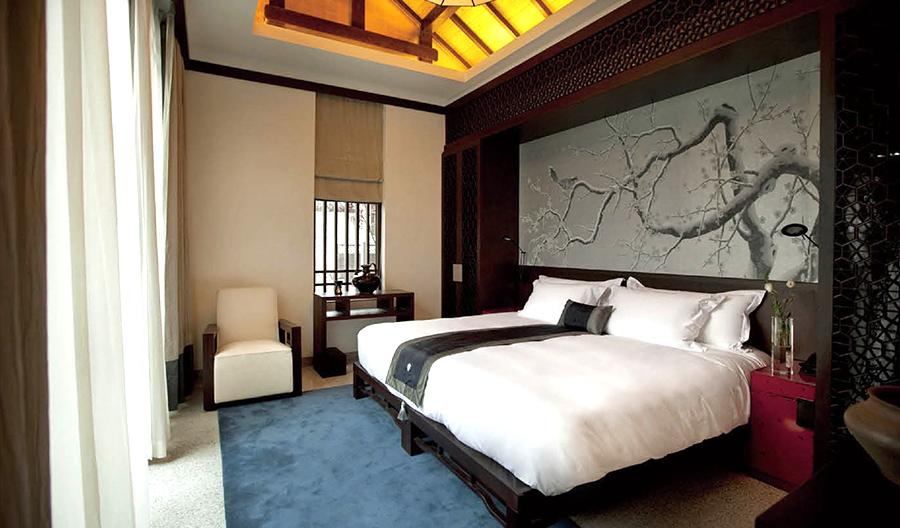 新中式风格酒店 套房家具厂家直销