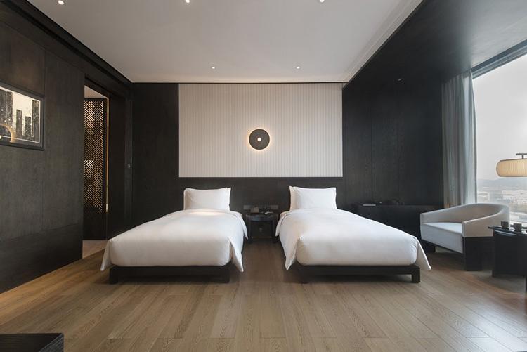 酒店新中式家具装饰的配色