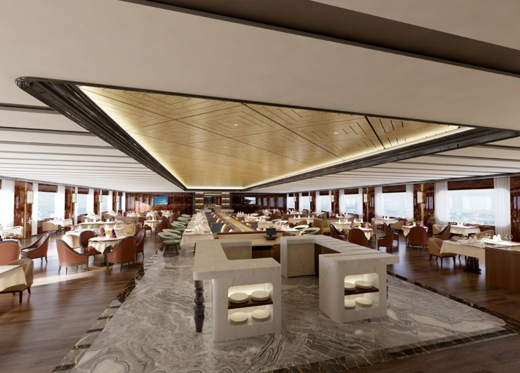 关于酒店餐厅餐桌的材质、样式选择有什么讲究?